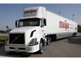 Meijer is one of several fleets participating in the Clean Energy Coalition's Green Fleets Project. The project is designed to displace and reduce more than 5 million gallons of fossil fuel and 500 million pounds of vehicle emissions.