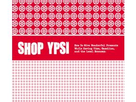 The Shop Ypsi brochure, shown above, is scheduled to be distributed around town sometime this weekend.