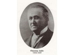 Chauncey Joslin was the first mayor of Ypsilanti and the father of its first aeronaut.