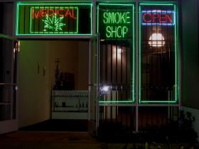 Zoning restrictions approved Tuesday in Ypsilanti Township mean a sight like this, the storefront for a medical marijuana dispensary in California, will only be legal in districts zoned light industrial.