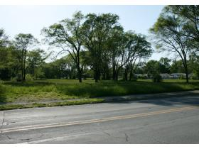 The 8.44 acres of land purchased by Ypsilanti Twp. Tuesday is bordered on the east by S. Harris Rd. and by Glenwood Ave. on the west. Township officials purchased the foreclosed property at a reduced price in hopes of someday building a park on the land.