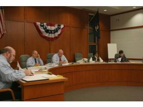 The Superior Township Board interviewed seven candidates for two Planning Commission seats at Monday night's meeting.