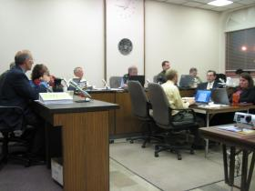 City Council met Thurdsay night instead of Tuesday due to the spring elections held this week.
