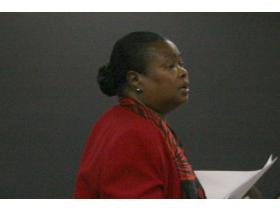 Willow Run Superintendent Doris Hope-Jackson